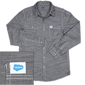 District Made Long Sleeve Chambray Shirt