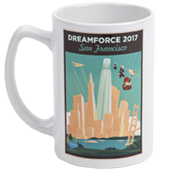 Dreamforce Tower 14oz Mug