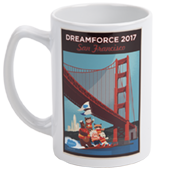 Dreamforce Water Ski 14oz Mug