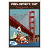 DF San Francisco Waterski Poster <font color=red>While Supplies Last!</font>
