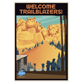 Welcome Trailblazers Poster