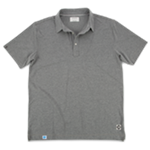 Men's Linksoul DryTech Polo (Heather Grey)