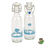 Glass Love Bottle - 16.9 oz.