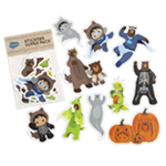 Tower Halloween Sticker Pack