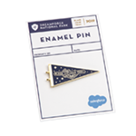 Dreamforce Pennant Flag Pin
