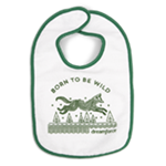 Infant Born To Be Wild Bib