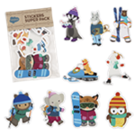 Tower Holiday Sticker Pack