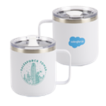 Tower Camper Mug White - 12 oz.