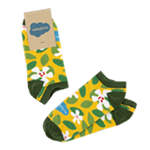 Tower Flower Ankle Socks