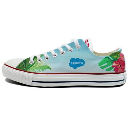 Unisex Aloha Low Top Converse Shoe <font color=red>While Supplies Last! </font>