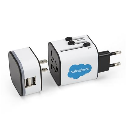 Universal Adapter White <font color=red>While Supplies Last!</font>