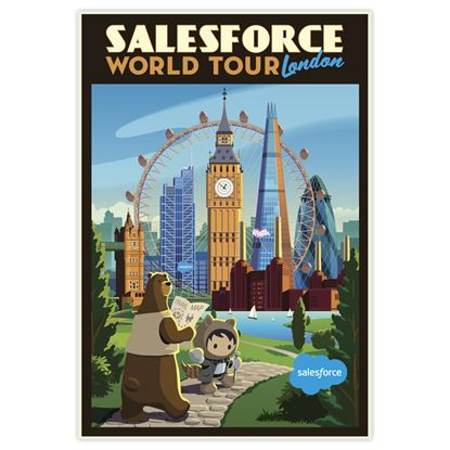 World Tour London Poster