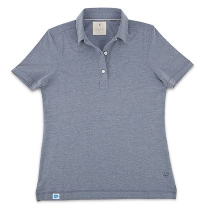 Women's Linksoul DryTech Polo (Cove Heather)