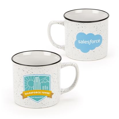 Tower Stoneware Mug - 12 oz.