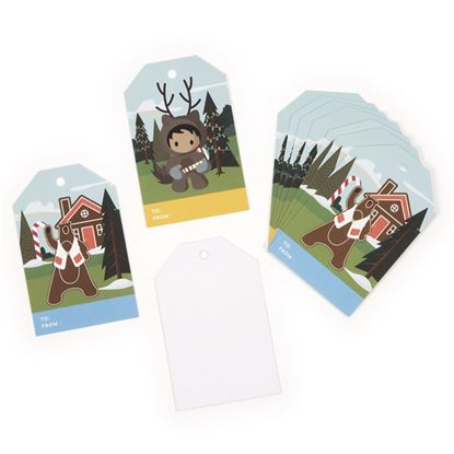 Tower Holiday Gift Tags - 10 pk.